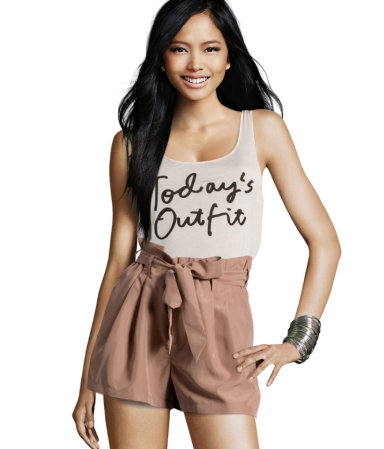 high-waisted shorts | Fashion Addict Army